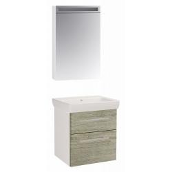 """Dreja Мебель для ванной """"Q max 60"""" орегон"""