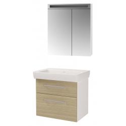 "Dreja Мебель для ванной ""Q max 70"" дуб"