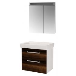"Dreja Мебель для ванной ""Q max 70"" орех"