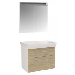 "Dreja Мебель для ванной ""Q max 80"" дуб"