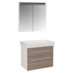 """Dreja Мебель для ванной """"Q max 80"""" кофе"""