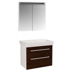 """Dreja Мебель для ванной """"Q max 80"""" венге"""