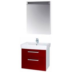 """Dreja Мебель для ванной """"Q max S 60"""" красный глянец"""