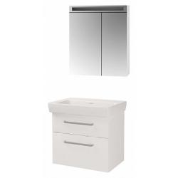 """Dreja Мебель для ванной """"Q max S 70"""" белый глянец"""