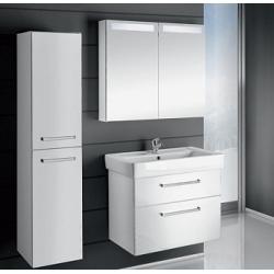 """Dreja Мебель для ванной """"Q max S 80"""" белый глянец"""