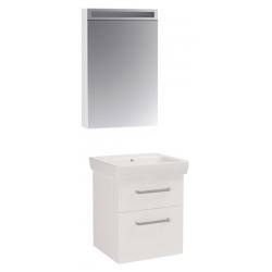 """Dreja Мебель для ванной """"Q max S"""" 55 белый глянец"""