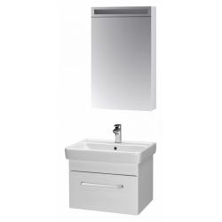 """Dreja Мебель для ванной """"Q uno 55"""" белый"""
