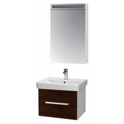 """Dreja Мебель для ванной """"Q uno 55"""" венге"""