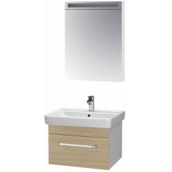 """Dreja Мебель для ванной """"Q uno 60"""" дуб"""