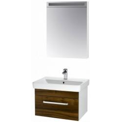 """Dreja Мебель для ванной """"Q uno 60"""" орех"""