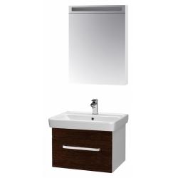 """Dreja Мебель для ванной """"Q uno 60"""" венге"""