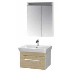 """Dreja Мебель для ванной """"Q uno 70"""" дуб"""