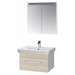"""Dreja Мебель для ванной """"Q uno 80"""" береза"""