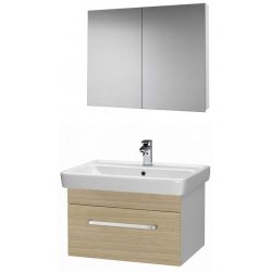 """Dreja Мебель для ванной """"Q uno 80"""" дуб"""