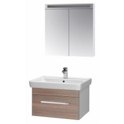 """Dreja Мебель для ванной """"Q uno 80"""" кофе"""