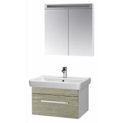 "Dreja Мебель для ванной ""Q uno 80"" орегон"