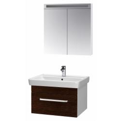 """Dreja Мебель для ванной """"Q uno 80"""" венге"""