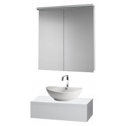 """Dreja Мебель для ванной """"Top 75"""" белый глянец"""