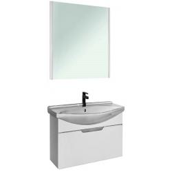 """Dreja Мебель для ванны """"Laguna 75"""" подвесная, белая"""