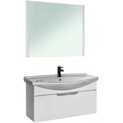 """Dreja Мебель для ванны """"Laguna 85"""" подвесная, белая"""