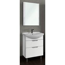 "Dreja Мебель для ванны ""Laguna Plus 75"" напольная, белая"