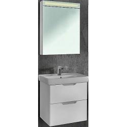"""Dreja Мебель для ванны """"Q 60"""" подвесная, белая"""