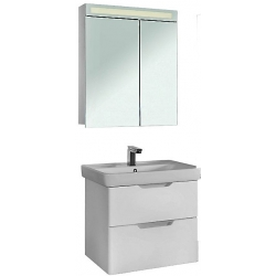 """Dreja Мебель для ванны """"Q 70"""" подвесная, белая"""