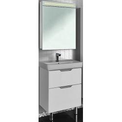 "Dreja Мебель для ванны ""Q Plus 60"" напольная, белая"