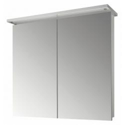 """Dreja Зеркальный шкаф """"Sani 80 2D"""" с Led-освещением белый"""