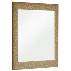 "Dreja Зеркало для ванной ""Ornament 65"" бронза"