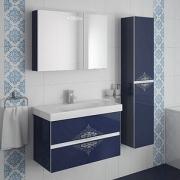 Мебель для ванной Ingenium Accord 90 синий глянец