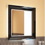 Зеркало Ingenium Vogue 75 черный глянец