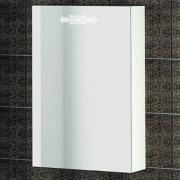 Зеркало-шкаф Ingenium Accord 50 белый глянец L