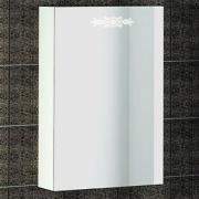 Зеркало-шкаф Ingenium Accord 50 белый глянец R