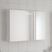 Зеркало-шкаф Ingenium Accord 90 белый глянец