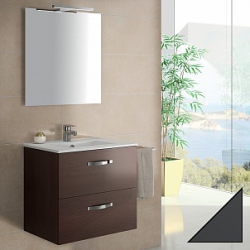 Мебель для ванной Jacob Delafon Ola 60 серый антрацит