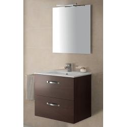 Мебель для ванной Jacob Delafon Ola 60 темный дуб