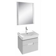 Мебель для ванной Jacob Delafon Reve 60 белый, 2 ящика