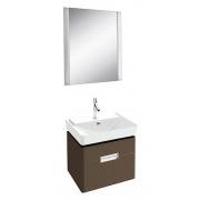 Мебель для ванной Jacob Delafon Reve 60 светло-коричневая, 2 ящика