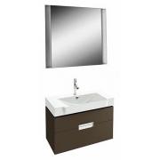 Мебель для ванной Jacob Delafon Reve 80 светло-коричневая, 2 ящика