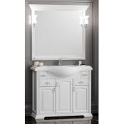 Opadiris Мебель для ванной Риспекто 100 цвет 9003 (белый матовый)