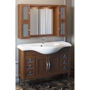 """Opadiris Мебель для ванной """"Мираж 120"""" орех"""