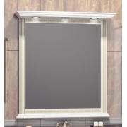 Opadiris Зеркало для ванной Корлеоне 80 слоновая кость с патиной