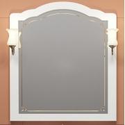 Opadiris Зеркало для ванной Лоренцо 100 белое