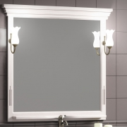 Opadiris Зеркало для ванной Риспекто 100 Weiss