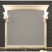 Opadiris Зеркало для ванной Риспекто 100 слоновая кость