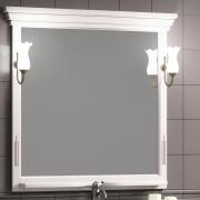 Opadiris Зеркало для ванной Риспекто 95 Weiss