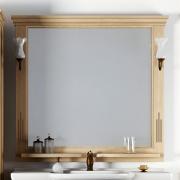 Opadiris Зеркало для ванной Риспекто 95 светлое дерево