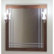 Opadiris Зеркало для ванной Сакура 80 орех