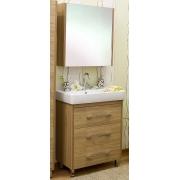 Sanflor Мебель для ванной Ларго 60 L вяз швейцарский
